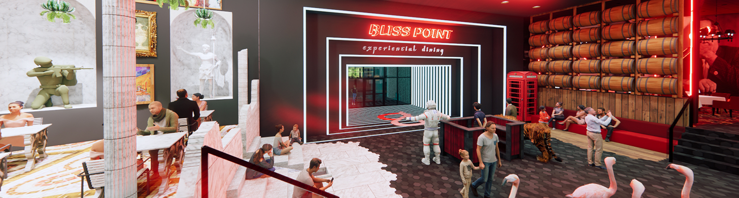 Welcome to Bliss Point – Experiential Dining